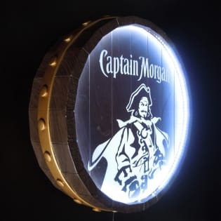 Custom (Captain Morgan)Illuminated billboard
