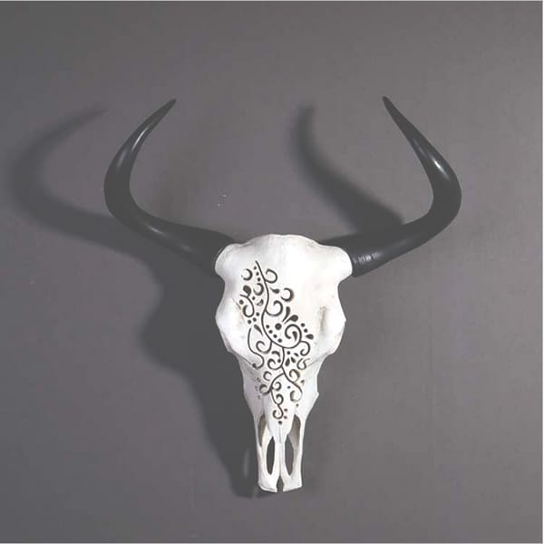 Goat Head Wall Decor