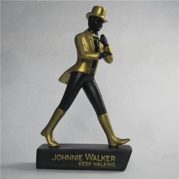 Custom Branded (JOHNNIE WALKER) Resin Figurine
