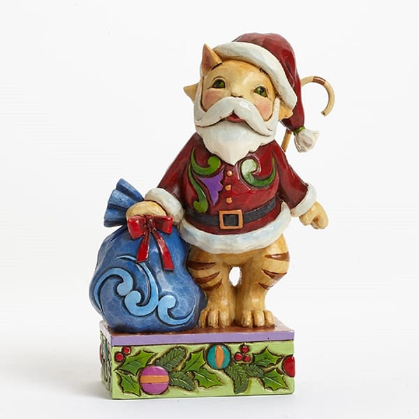 Customized Polyresin Cartoon christmas figurine