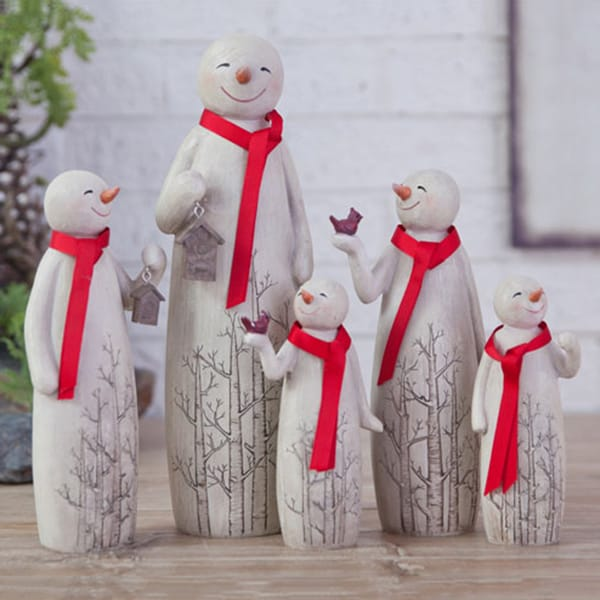 Unique Design Christmas Snowman Figure Gifts Set