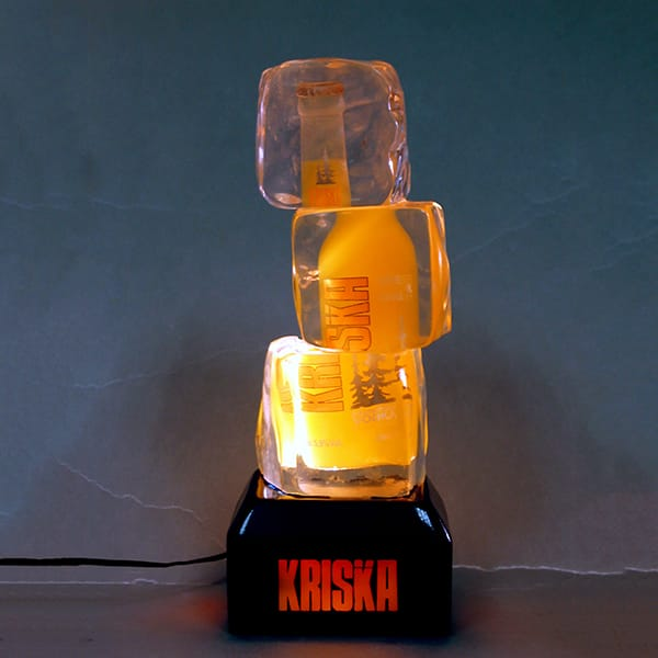 (KRISKA BEER) Illuminated Bottle Glorifier