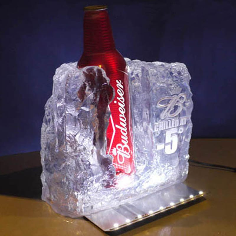 ICE Design (Budweiser Beer) Bottle Glorifier