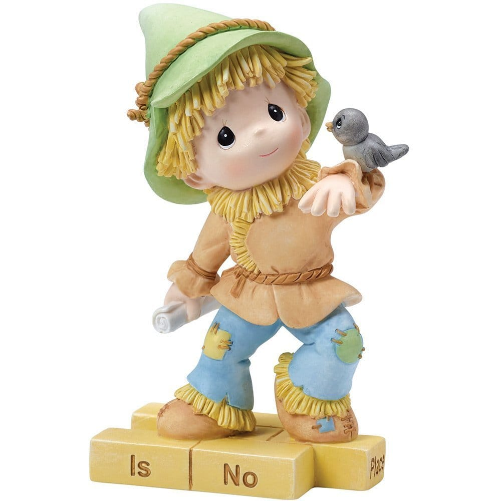 """The Wonderful World of Oz"" Scarecrow, Resin Figurine"