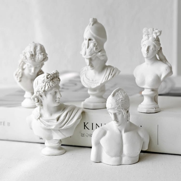 Custom Resin Greek Statue Mini Bust Statue