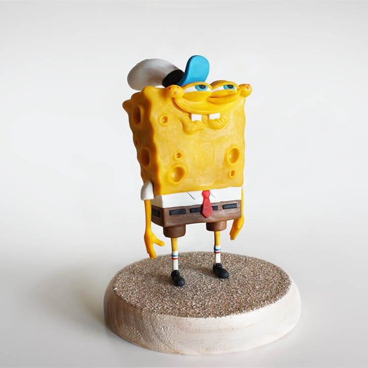 OEM factory direct Resin SpongeBob figures