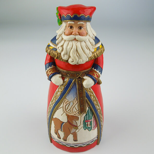 Custom Hand Paint Resin Santa Claus Figurines