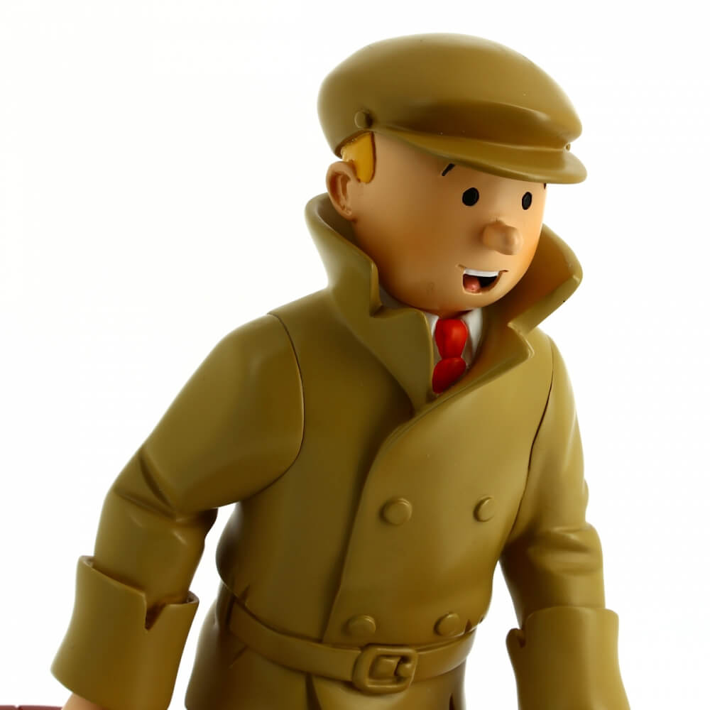 tintin resin figure