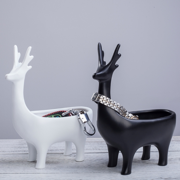 Deer figurine Container For Home Decor