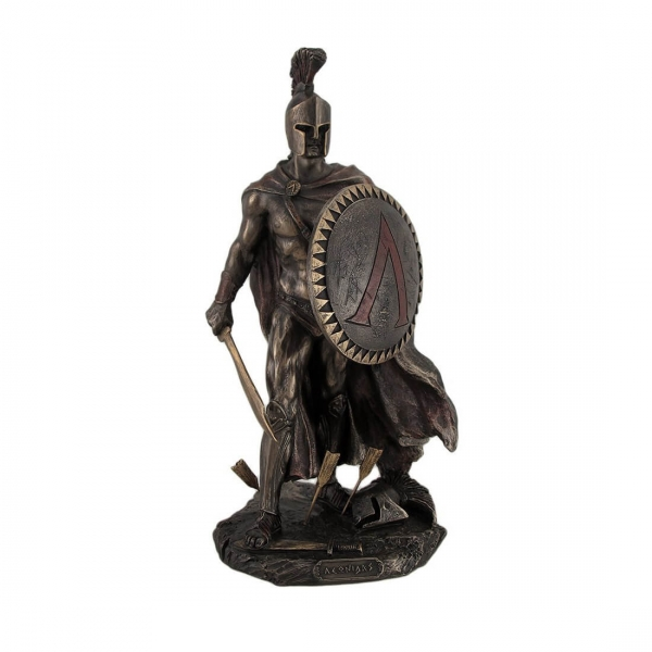 Cold Cast Bronze Resin Ancient Soldier Figurines