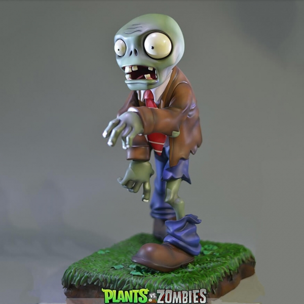 Customized polyresin zombie figurines