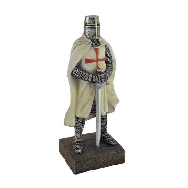 Medieval Templar Knight Resin Figurines