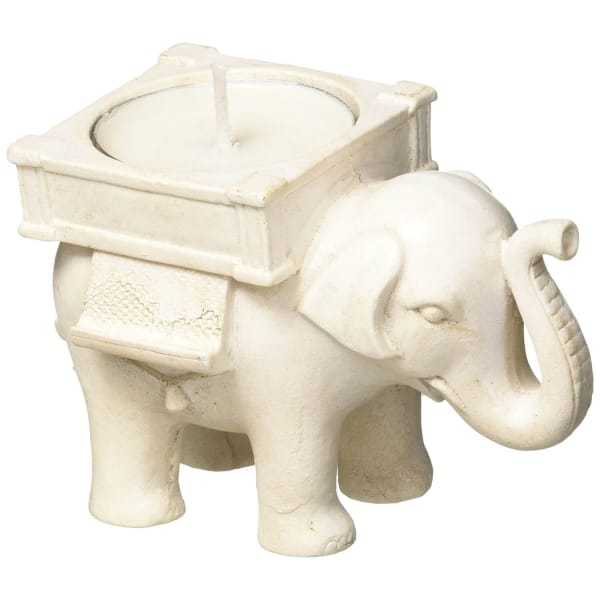 Lucky Elephant Tea Light Candle Holder