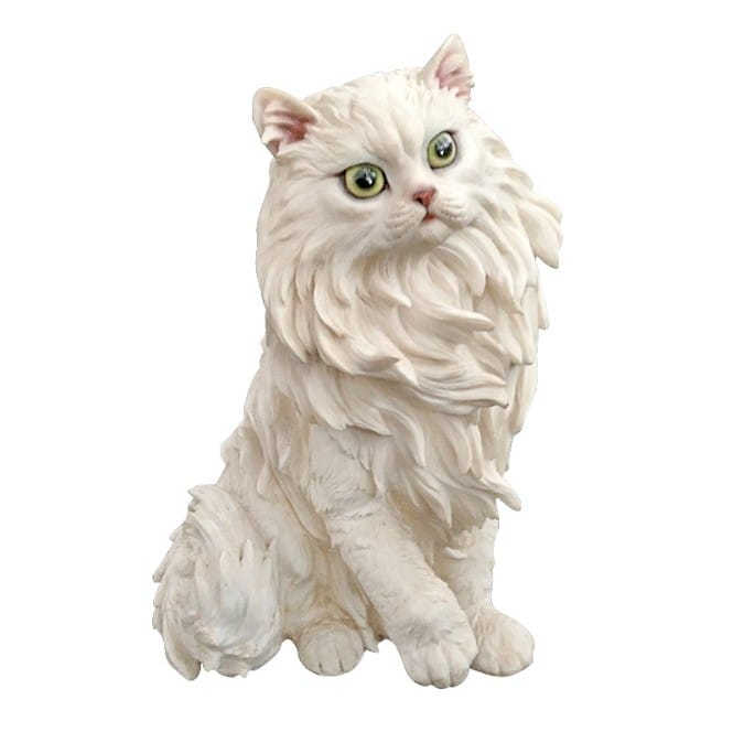 High quality details resin life like cat figure statue