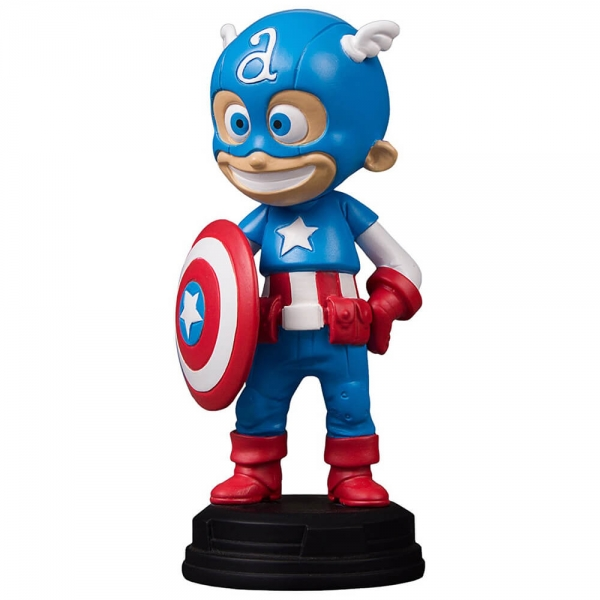 Cartoon Polyresin Figures Captain America Figures
