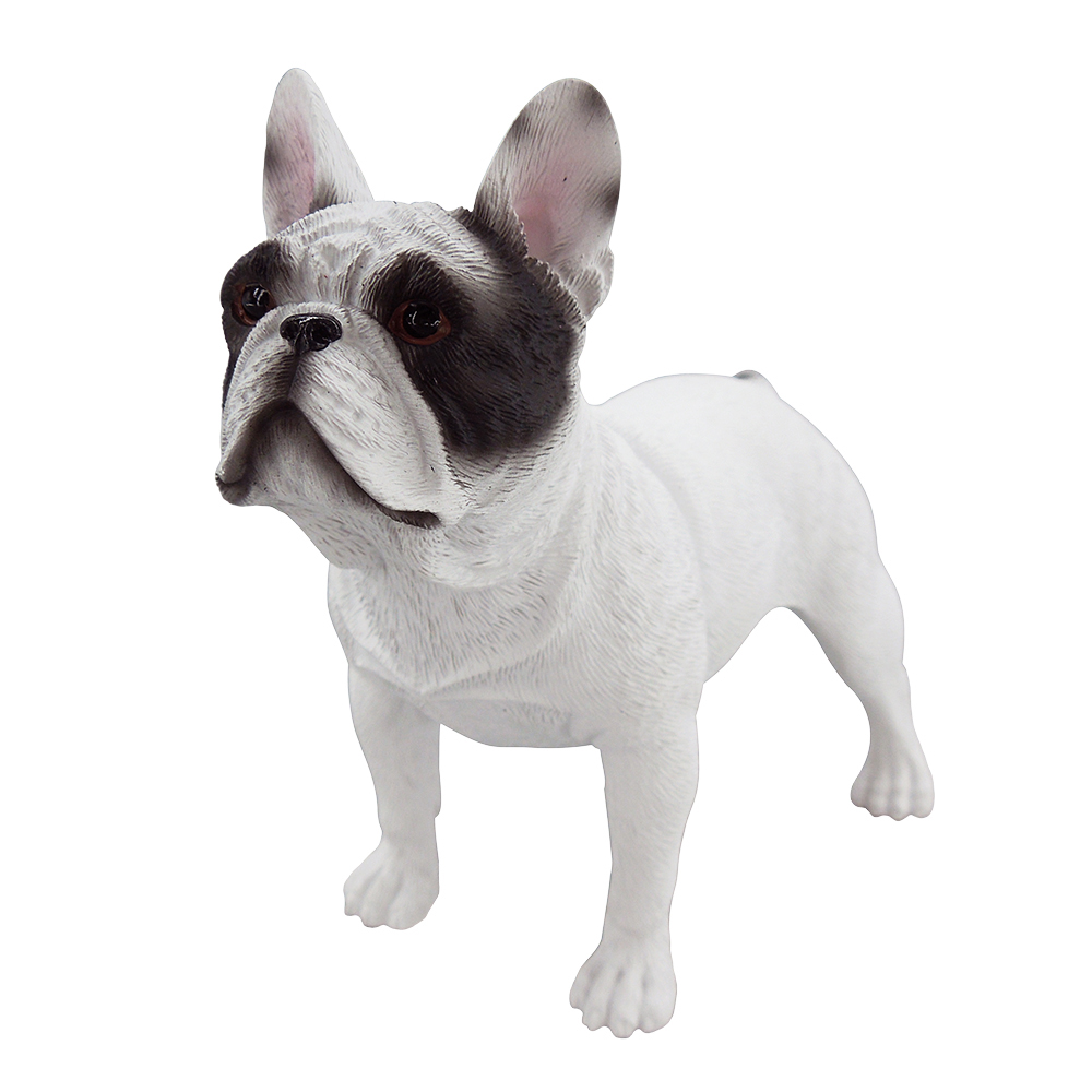 Custom design resin french bulldog figurine